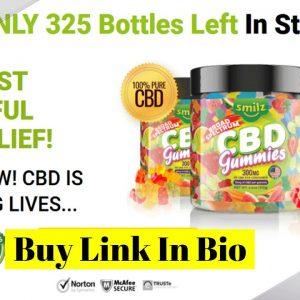 Smilz CBD Gummies - Relieve From Stress, Pain & Anxiety! 100% Pure Organic CBD Gummies!