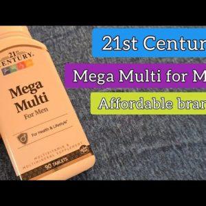 21st Century Mega Multi Vitamins for Men