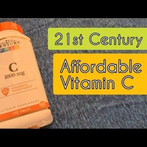 21st Century Vitamin C - 1000 mg