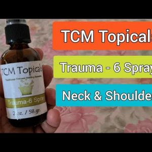 Ageless Herbs Trauma-6 Spray for Neck and Shoulders pain