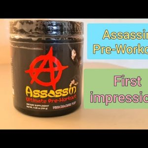 Assassin Pre- Workout : First Impressions (So Far Not Good)