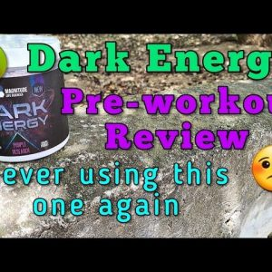 Dark Energy pre-workout review - The worst experience with pre-workouts ever 🤢