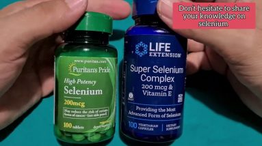 Selenium Supplements- What are the benefits 🤔