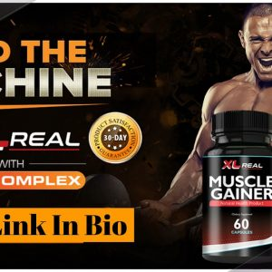 XL Real Muscle Gainer (Reviews) - For Increase Muscles and Testosterone and Increase Your Stamina!